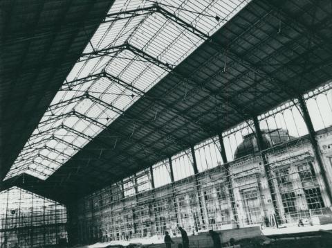 A Nyugati pályaudvar felvételi épületének rekonstrukciója