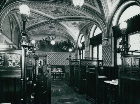 A Kárpátia sörözője az 1978-79-es rekonstrukció után