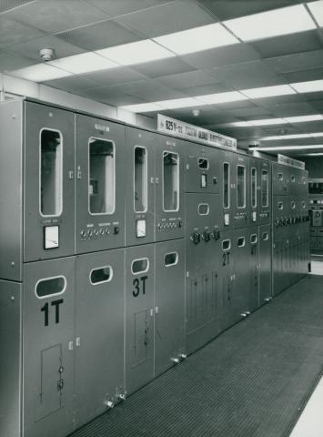 A BKV Forgalomirányító Központjának elektromos berendezései