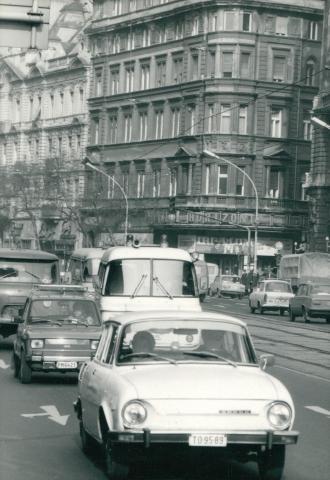 Erzsébet körúti látkép