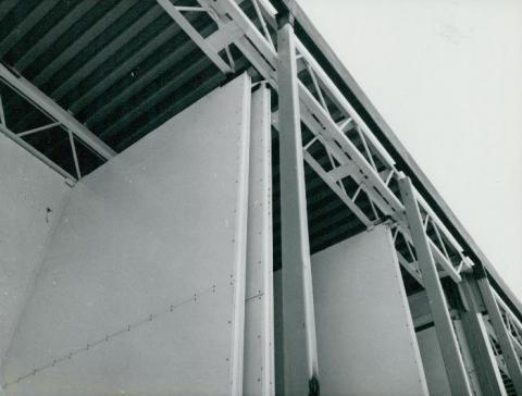 Az M3-as autópálya épülő szilasi pihenőhelye