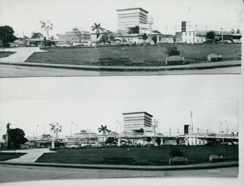 Costa Ricába tervezett felüljáró látványterve