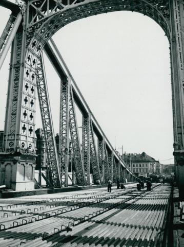 A Szabadság híd rekonstrukciója