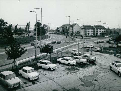 A szentendrei Dunakanyar körút látképe