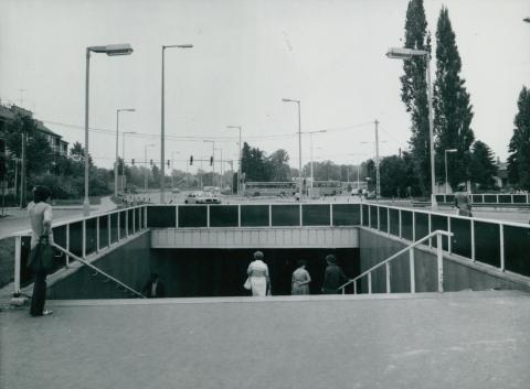 Aluljáró a szentendrei Dunakanyar körúton