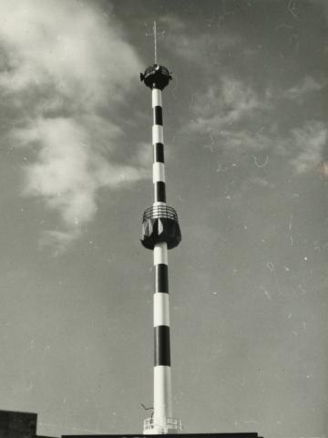 URH torony makettje