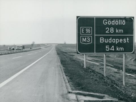 Az M3-as autópálya Budapest felé vezető szakasza