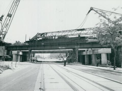 Az Üllői úti vasúti híd rekonstrukciója