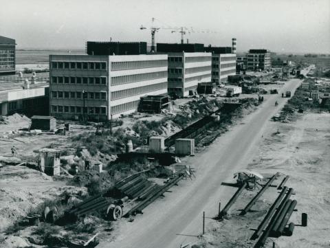 A Ferihegyi repülőtér karbantartó műszaki bázisa