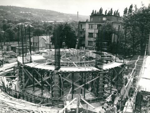 Hotel Budapest (Körszálló) építése