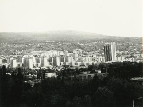 Pécs látképe