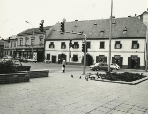 Pécsi utcakép