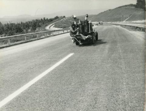 M1 autópálya Bicske és Tatabánya között