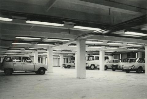 EV és MT garázs