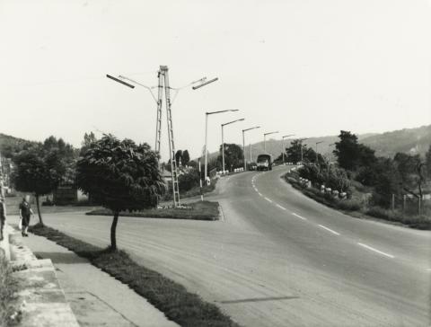 Salgótarján, 22 sz. út építés előtt