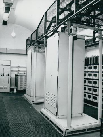 A 3-as metró Deák téri villamosberendezése