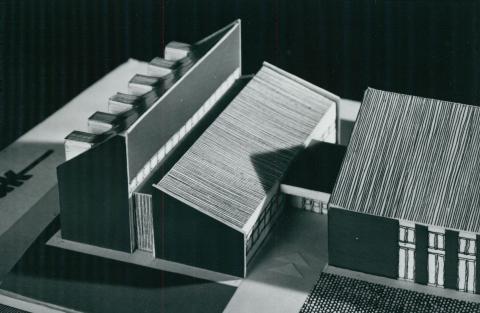 A mátraszentimrei Tanácsház modellje