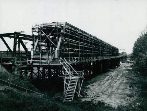 Az algyői vasúti híd ártéri szakaszának rekonstrukciója