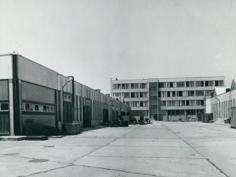 A KLIMA KTSZ Cservenka utcai telepének építése