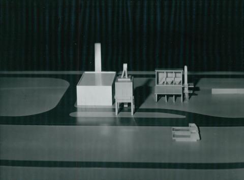 A debreceni útépítő telep modellje