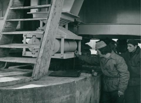 Az algyői vasúti híd új sarujának vizsgálata
