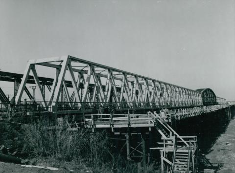 Az algyői vasúti híd új ártéri szakasza