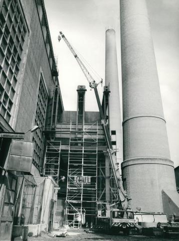A Borsodi Hőerőmű csarnoképületének bővítése