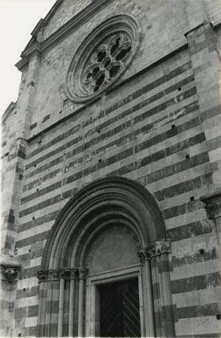 A bélapátfalvi ciszterci templom nyugati homlokzatának felmérése
