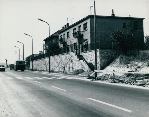 Budaörsi út, az M1-es és M7-es autópálya bevezető szakaszának kiépítése az Osztapenkónál