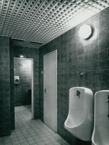 A Kárpátia étterem mosdója az 1978-79-es rekonstrukció után