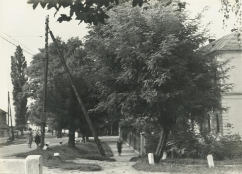 Fonyódi utcakép