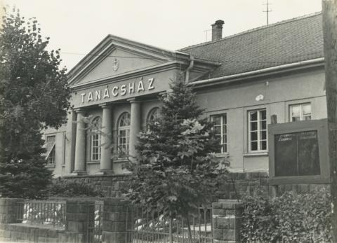 Fonyódi Tanácsház, ma a Városháza épülete
