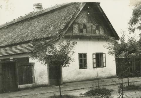 Kistelek, lakóház a Kossuth Lajos utcán
