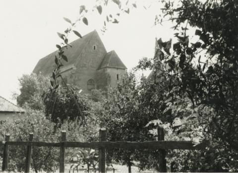 Rálátás a nyírbátori református templomra