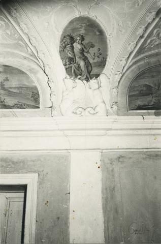 Bük, volt Szapáry-kastély freskója