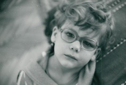 Ismeretlen kisgyerek portréja