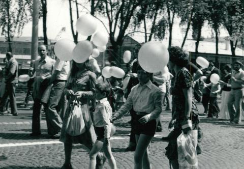 Május 1-i felvonulás Budapesten
