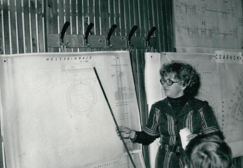 BNS alapozás bemutatója, szovjet előadóval