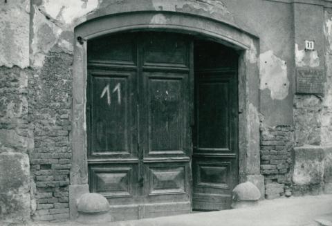 Épület állagvizsgálata Miskolcon, a Rákóczi Ferenc utcában