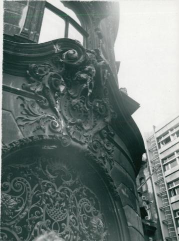 A Fővárosi Szabó Ervin Könyvtár homlokzatának vizsgálata
