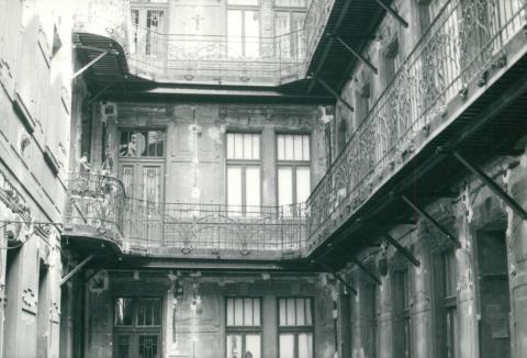 Épület állagvizsgálata a Budapest, Soroksári út 46. szám alatt