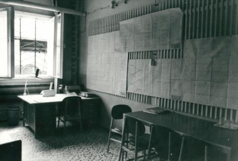 Műszaki labortömb építkezése melletti iroda