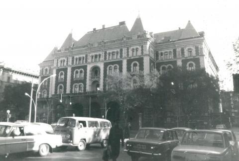 Az egykori Drechsler-palota, később Állami Balett Intézet épülete