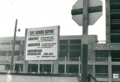 Balatonfüredi SZOT oktatási központ szigetelése