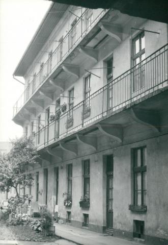 Budapesti épület állagvizsgálata, belső homlokzat