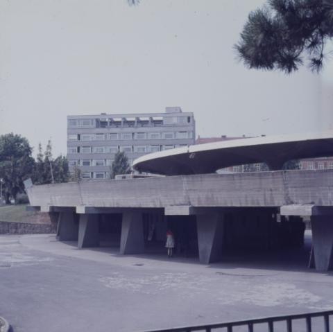 Az egri MÁVAUT autóbusz-állomás