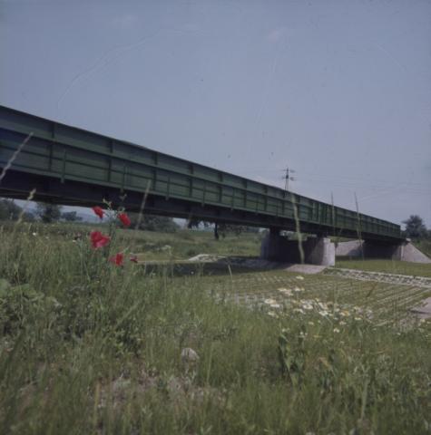 Vasúti híd látképe