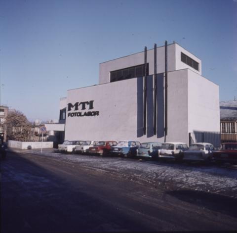 Az MTI fotólabor épülete