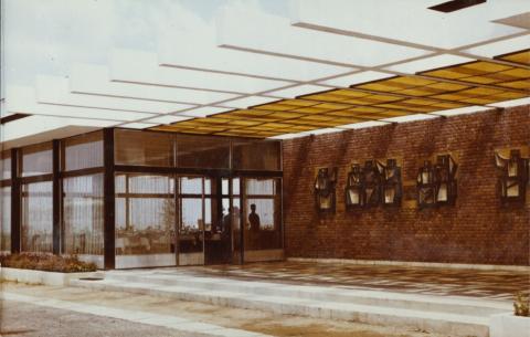 A MÚOSZ üdülőkomplexum étterme