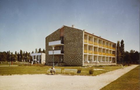 A Nehézipari Minisztérium balatonszéplaki üdülője